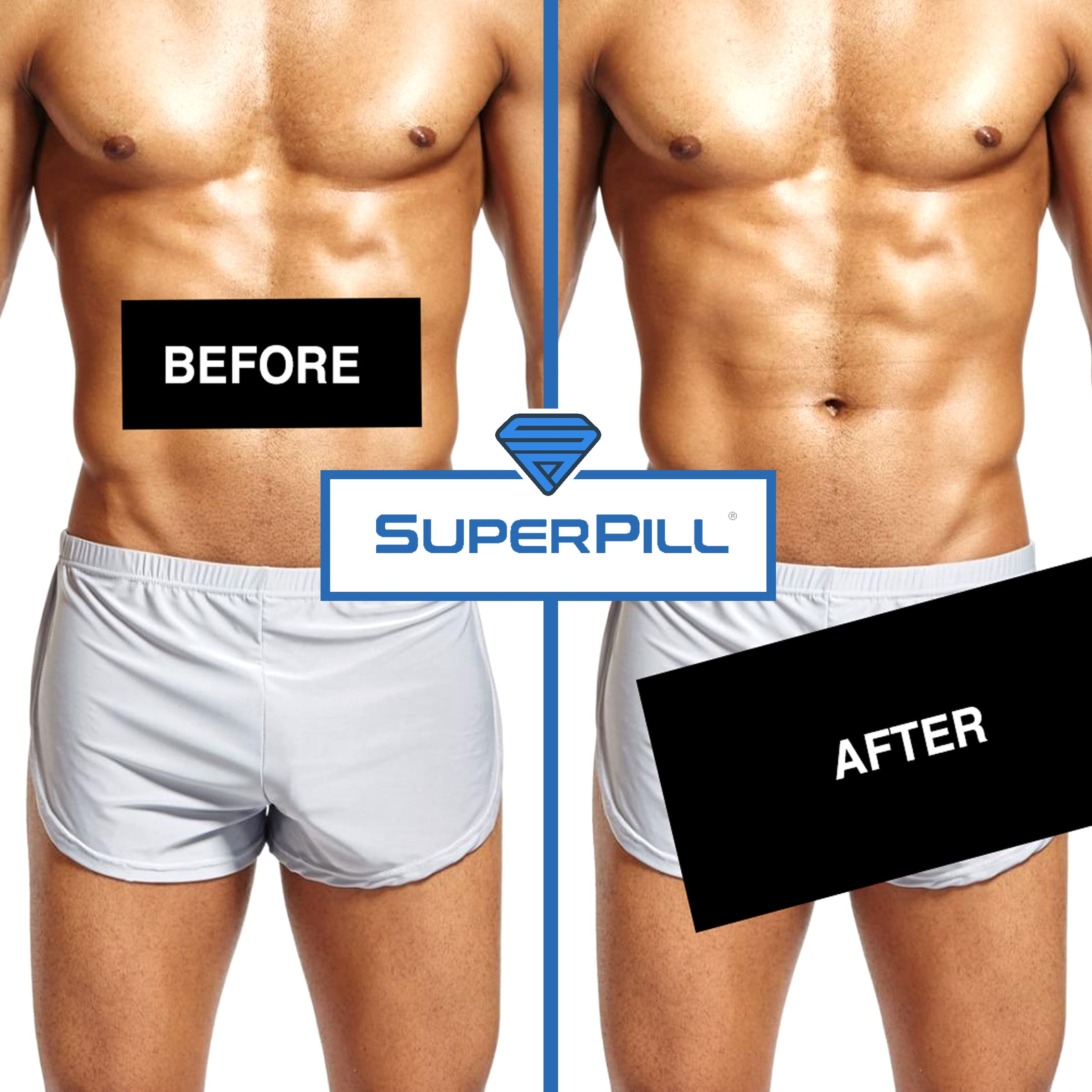 Before & After SuperPill