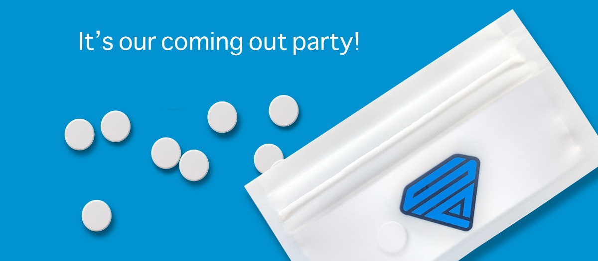 SuperPill pill pack - Coming Out Party - Facebook Cover