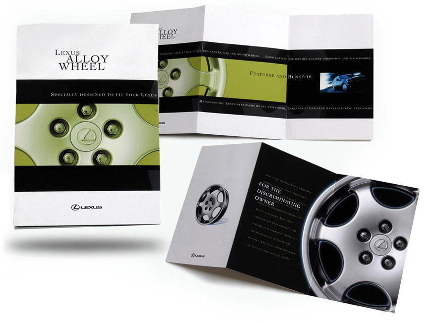brochure design for Lexus - by Armeno Design