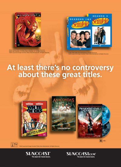 Columbia TriStar OrangeBowl Gameday Program Print Advertising by ArmenoDesign.com