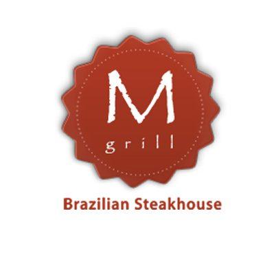 M Grill logo design by ArmenoDesign.com