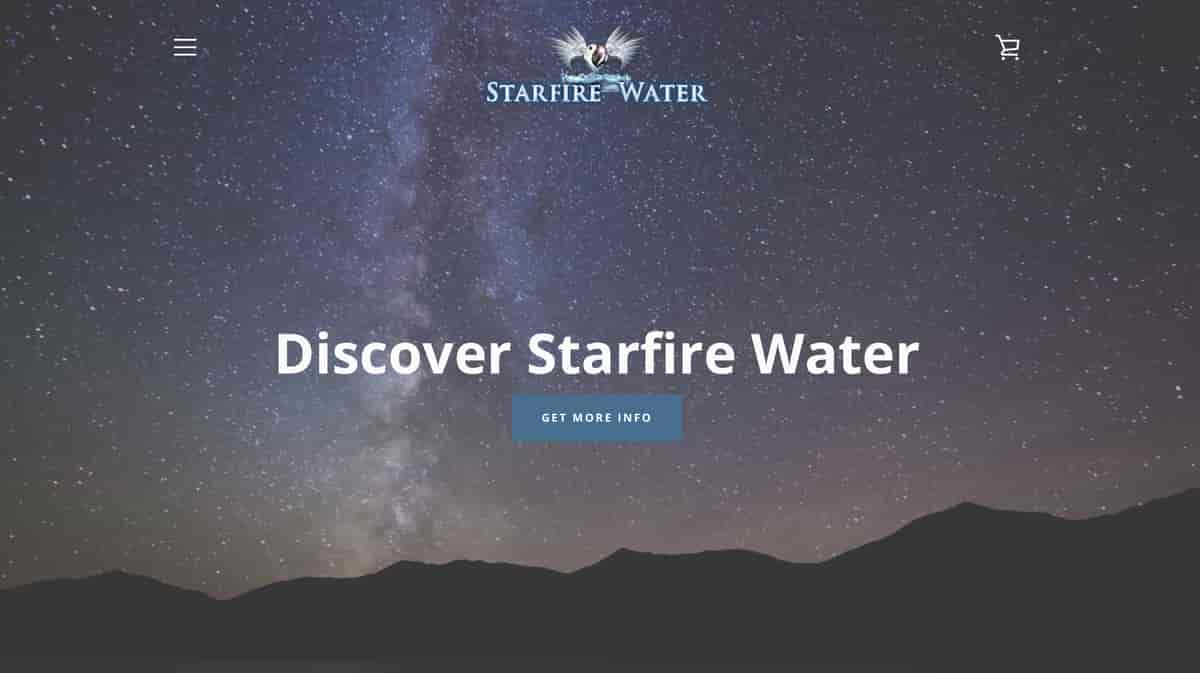 Starfire Water website design & marketing by ArmenoDesign.com