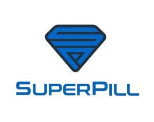 SuperPill.com logo design by ArmenoDesign.com