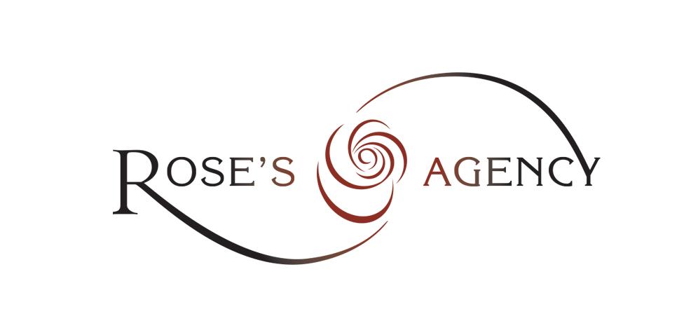 Rose's Agency logo design by ArmenoDesign.com